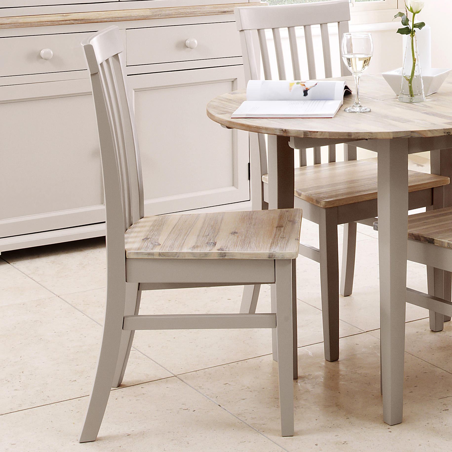 High Backed Kitchen Chairs: Florence High Back Chair, Quality Truffle Kitchen Dining