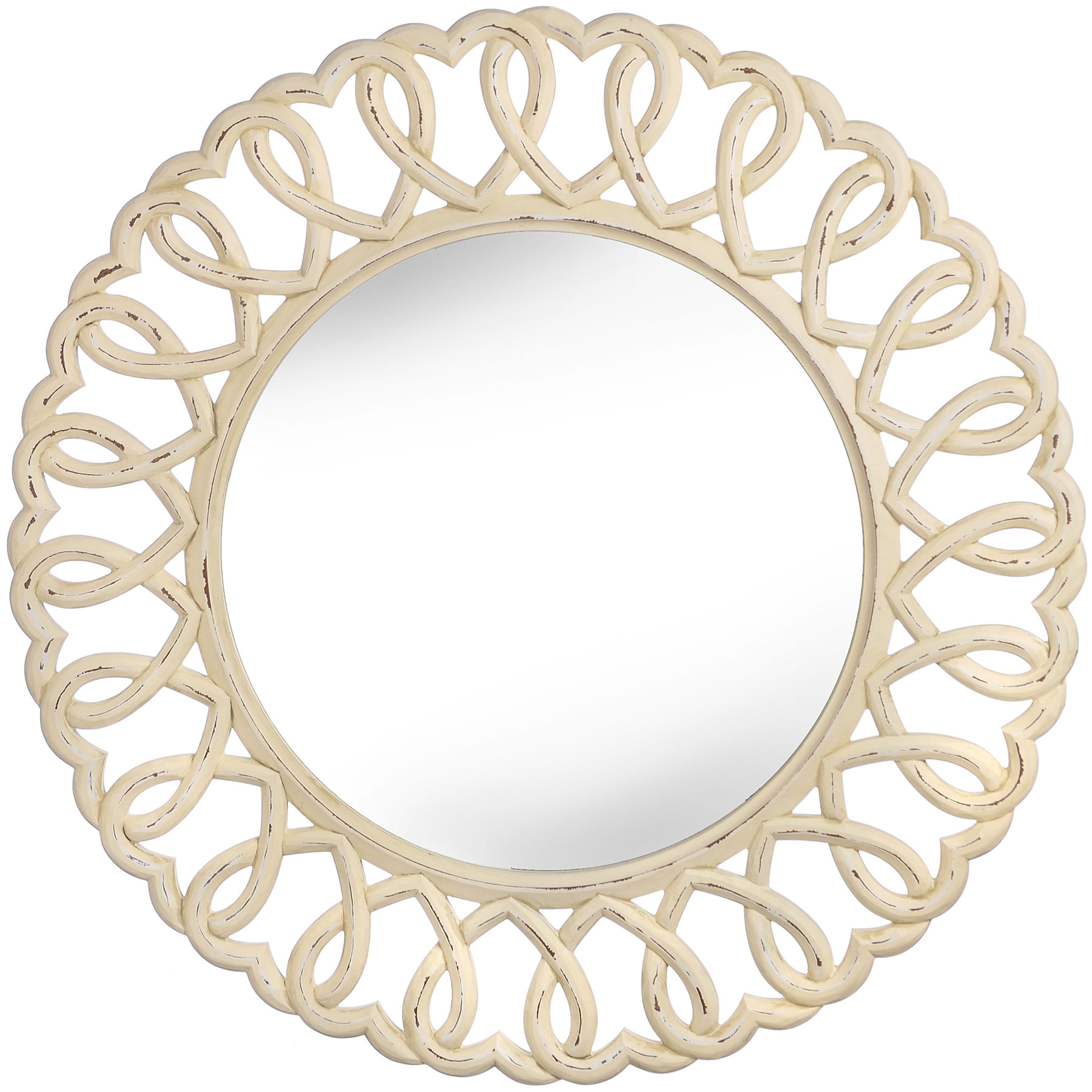 Large Wall Mirrors For Bedroom Olivia Heart Wall Mirror Stunning Large Mirror 90cm Round Wall